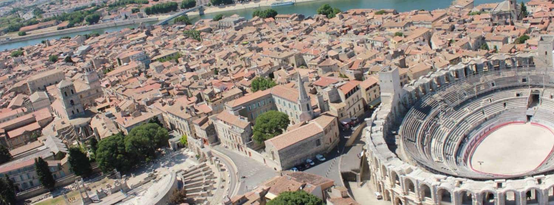 La ville d'Arles