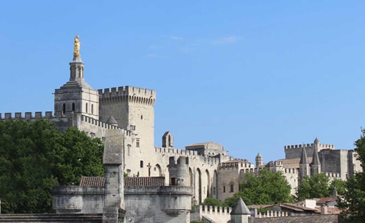 La ville d'Avignon